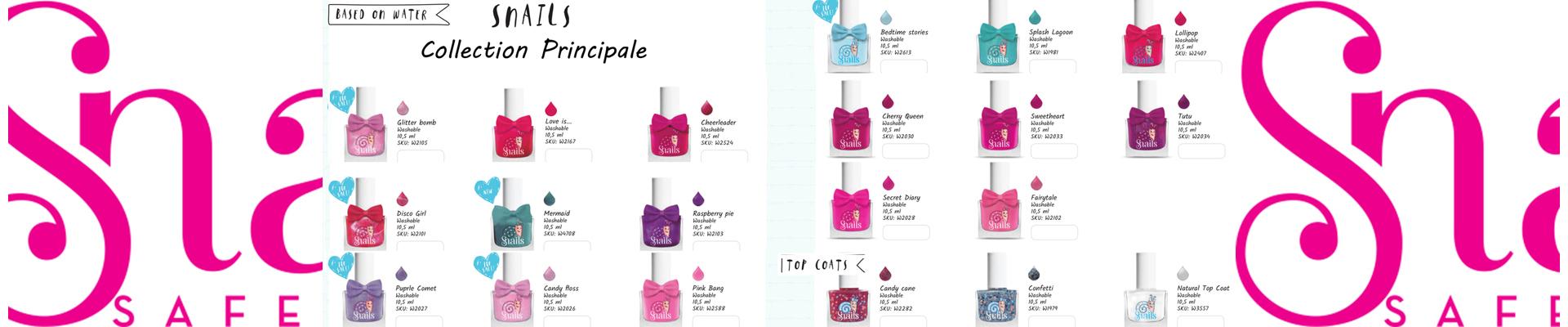 Maximalices - Vernis Snails collection classique pour enfant lavables à l'eau et au savon
