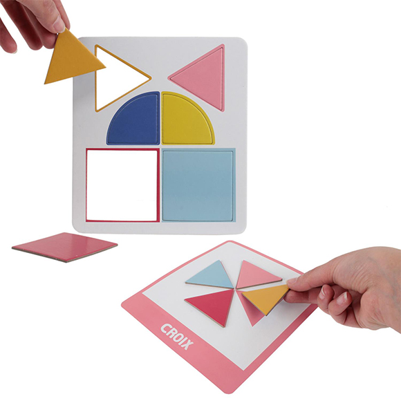 cartes éducatives j'apprends les formes