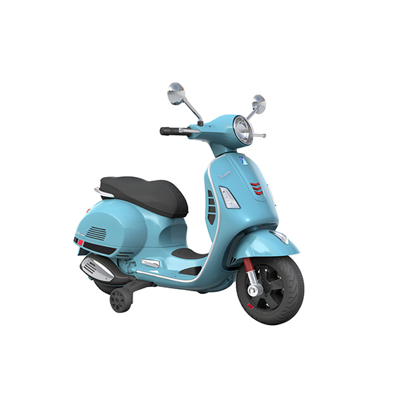 scooter électrique bleu ciel 6V