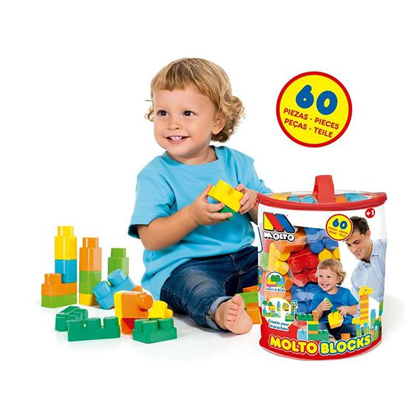 Sachets de blocs 60 pièces  Molto