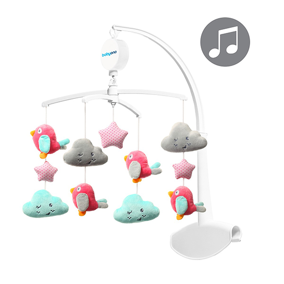 Mobile Musical Nuage oiseaux