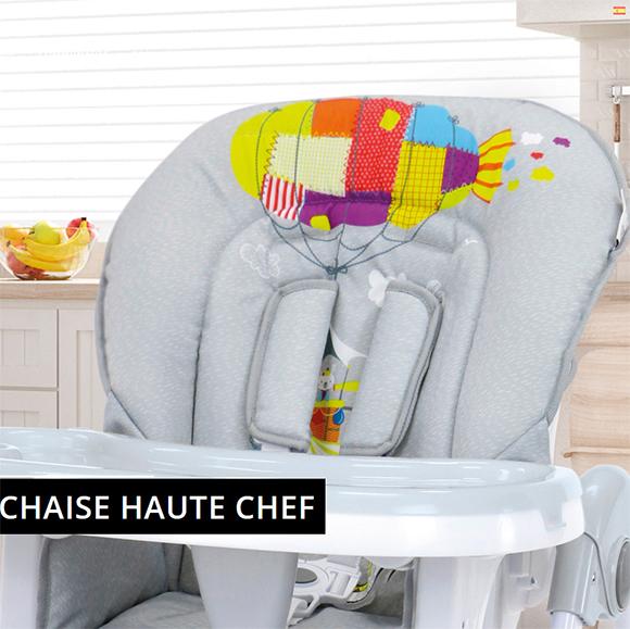 Chaise haute Chef Zeppelin