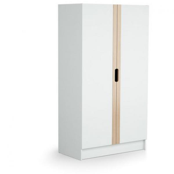 Chambre Complete CARROUSEL Blanc et Hêtre ATELIER T4