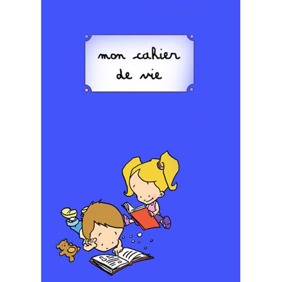 Cahier de vie - Bleu