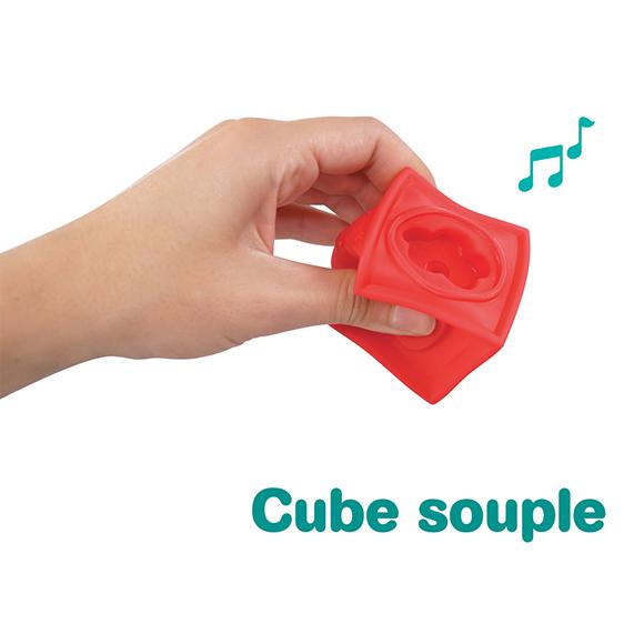Cubes souples emboitables LUDI