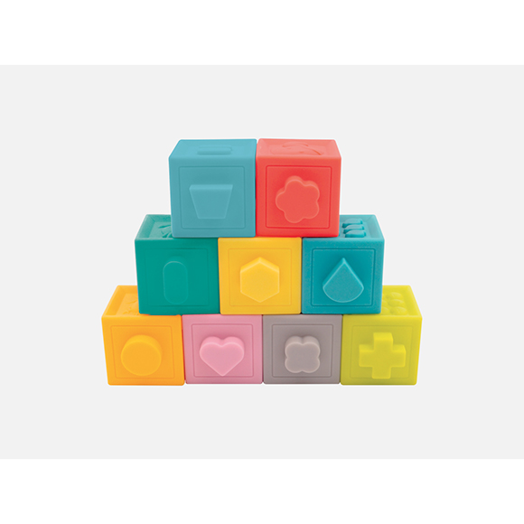 Cubes souples emboitables