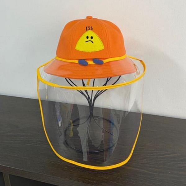 Bob visière amovible orange COOL POPS
