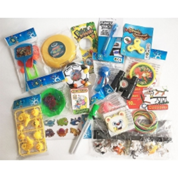 Assortiment de 72 jouets mixtes