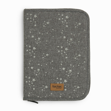 Porte document constellation gris