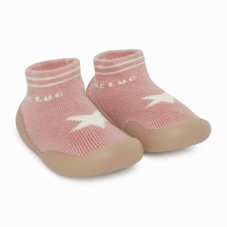 Chaussons constellation rose