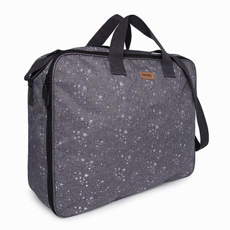 Valise maternité constellation grise