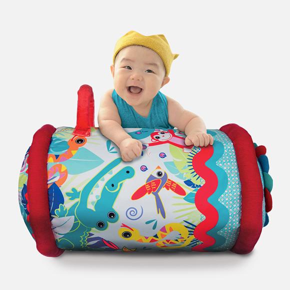 Baby roller tissu
