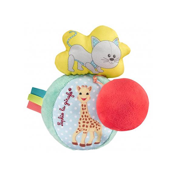 Balle vibrante Sophie la girafe