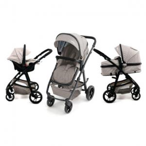 Poussette duo Convertible Two+ beige