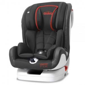 Siege auto Confort Fix rouge groupe 1/2/3