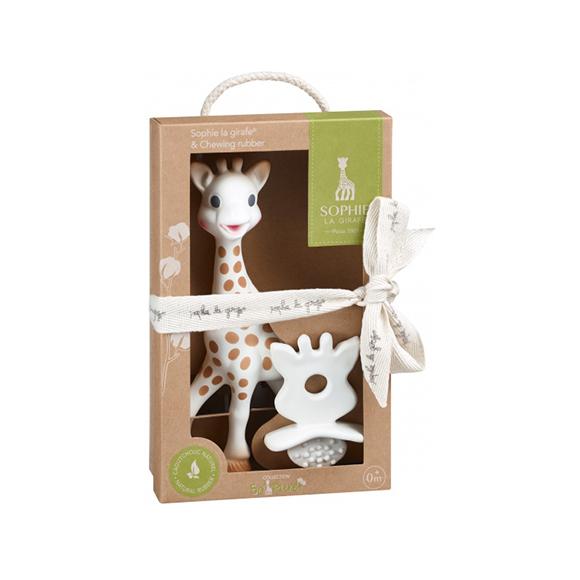 Coffret Sophie la Girafe et son anneau de dentition Chewing Rubber