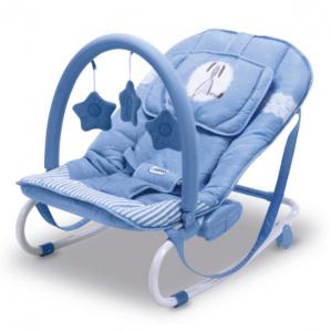 Transat relax motif Lapin Bleu